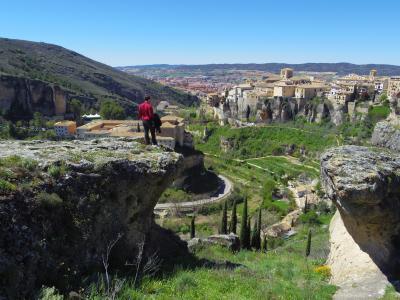オランダ・スペイン 花の旅 NO.6 バレンシアから絶景のクエンカに到着