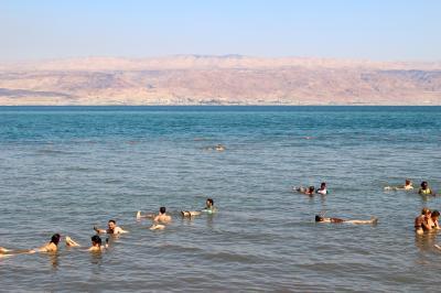 歴史と民族を学ぶ充実の旅イスラエル7日間(死海)