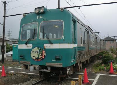 駿河健康ランドと岳南電車‥乗って.食べて.癒しの2日間・その2 岳南電車でB級グルメ旅。