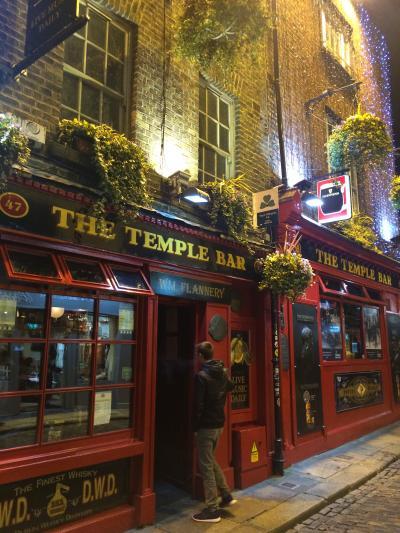 アイルランド:Ireland2016-Dublin(ダブリン)-3~Celtic Night Dinner & Show、テンプルバー~