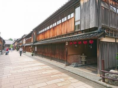新緑の富山・石川  ④近江町市場、ひがし茶屋街、武家屋敷跡