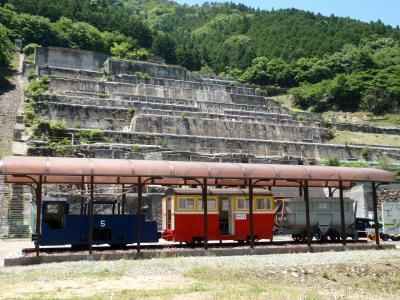 竹田城のそばにある隠れた観光ポイント、鉱石の道めぐり