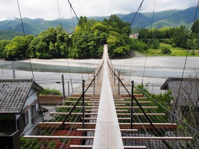 <旅鉄子☆大井川鐡道の旅.1>憧れの路線旅!スリリング?アスレチック?「200m塩郷の吊り橋」