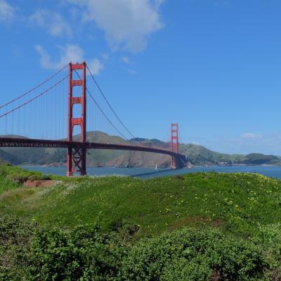 初西海岸サンフランシスコ最終編 ゴールデンゲートブリッジへ
