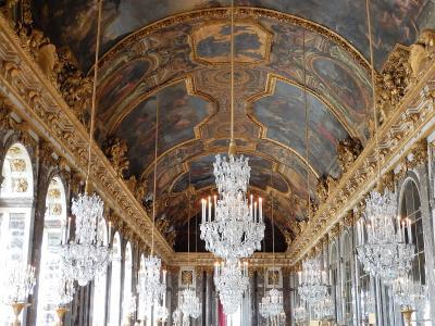 フランス・パリ旅行7泊9日(6)何かと裏目に出た、ヴェルサイユ宮殿と広大な庭園の散策「宮殿編」(2016GW)