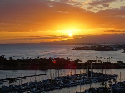 心身の癒しを求めてハワイへ☆縁(えにし)を紡いだ8泊10日☆~2日目まったりとした一日(*´ω`)~