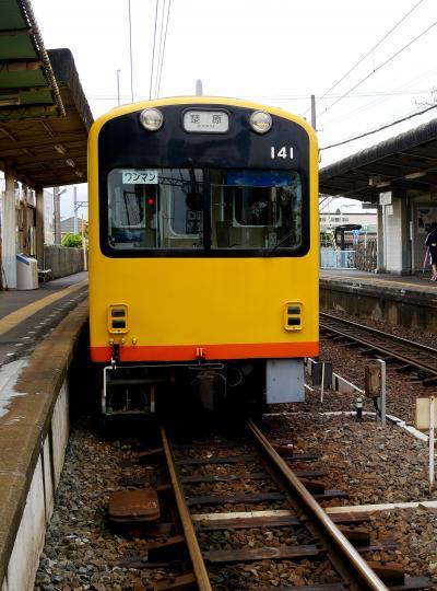 2016.6名古屋出張・電車の旅2-三岐鉄道北勢線楚原まで乗る.762mmの狭軌!