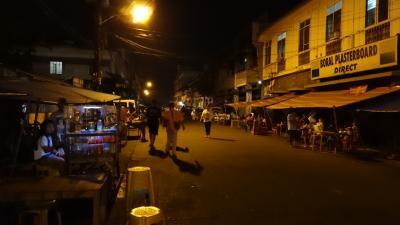 フィリピンのイロイロはどんなところ? その4 夜のアロヨ通り
