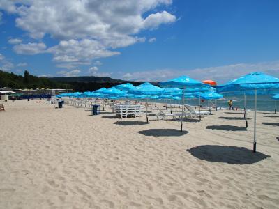 ブルガリア旅行ー10:ヴァルナ(市営ビーチと公園)