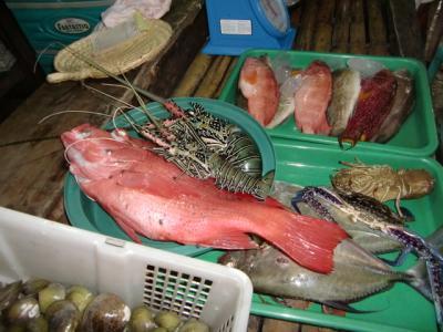 サバングビーチの市場
