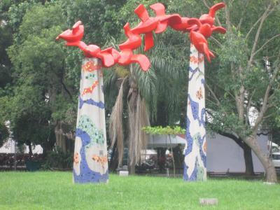 台湾 「行った所・見た所」 屏東の中山公園・千禧公園散策