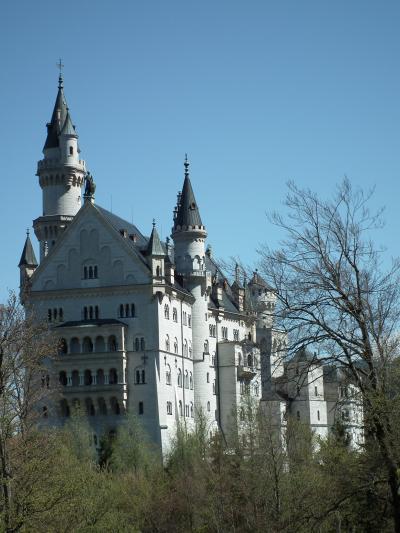 南ドイツ少しパリ、ちょっと無謀な中高年女子凸凹二人旅3 ホーエンシュバンガウ
