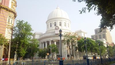 インド コルカタ市街地 散歩歩き