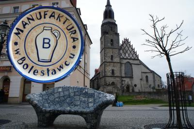 デザイン性と 実用性が高い陶器の町ボレスワヴィエツ