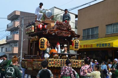 吉原祇園祭・おてんのさん 2016.06.11 1.会場へ