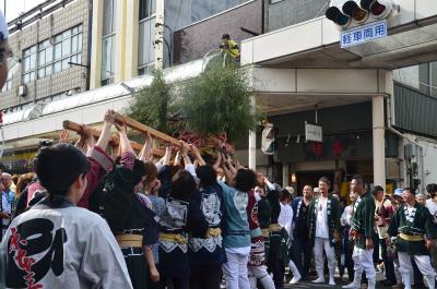 吉原祇園祭・おてんのさん 2016.06.11 2.女神輿
