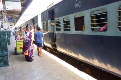 2016GW 3回目のインドは暑かった その7インド鉄道乗車編