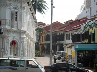 2泊4日で満喫シンガポール、女ひとり旅【1】ベトナム航空乗継ぎ到着。エメラルド・ヒルでプラナカン建築を散策、マーライオンにご挨拶。