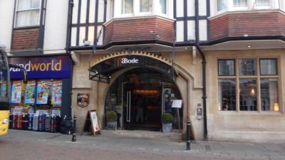 ウェールズと南イングランド周遊(54) カンタベリー 2連泊の初日のホテル滞在。