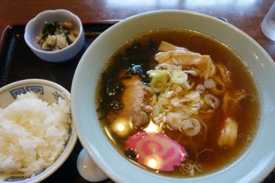 20160614 大間への移動 寺川食堂さんのつるアラメラーメン、と、少し町歩き