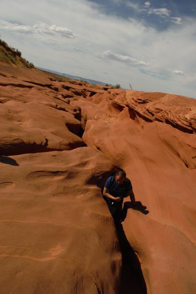ちょっと忙しかった、グランドサークル2週間(2015) 49、光と影の世界・後編(Lower Antelope Canyon)
