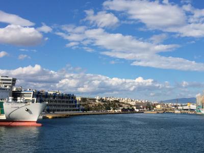 オーシャニア・リビエラ地中海クルーズ vol.8 ハドリアヌスの図書館☆ようやくピレウスの港へ~そして乗船。