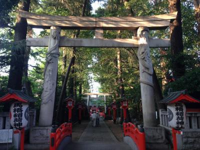 東京での今年最高のパワースポット(馬橋稲荷神社)
