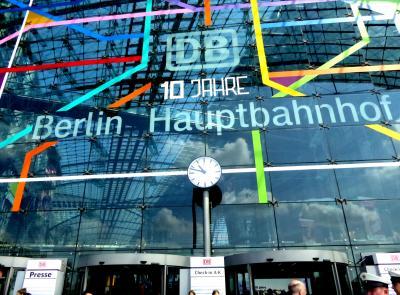 2016.5 友と別れて一人旅 ☆ベルリンへの移動、ベルリン中央駅10周年、難民問題にもちょっと触れます