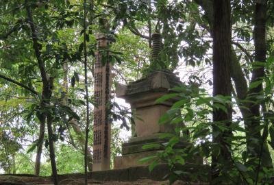 2016梅雨、奈良の世界遺産巡り(5/9):6月5日(5):唐招提寺(3):苔庭、鑑真和上御廟、鑑真和上・身代わり像、御影堂