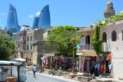 コーカサス一人旅【2】アゼルバイジャン・バクー街歩き