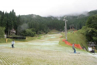 若杉大屋キャンプ場スキー場