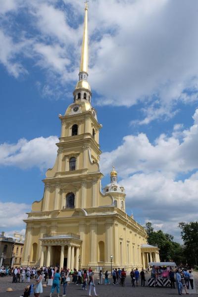 ロシア観光2016 サンクトペテルブルグ 3日目 ペテロパグロフスク要塞と周辺観光