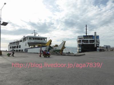 #273 2016年GW 【沸騰ワード10】で紹介された『シキホール島』,神秘的な島,心霊スポット,(白魔術・黒魔術)魔女が住む島,妖怪マナナンガルの島,山下財宝が眠る島,フィリピン人が怖くて行きたくない島 っていったいどんな島? #8 ドゥマゲテ港から『GL Shipping Lines:GL・シッピング・ライン』でシキホール島、シキホール港に到着です