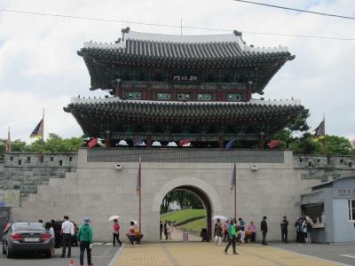 韓国 「行った所・見た所」 晋州城跡を散策