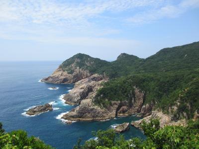四国南西沿岸ドライブ ② 高知の西のはしっこ柏島・大月へ