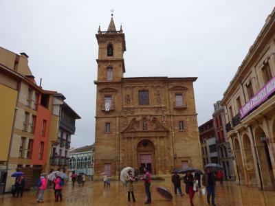 1601スペイン~オヴィエドどしゃ降りの雨