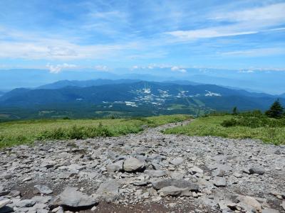 四阿山2015夏登山記 【1】菅平牧場口~根子岳~大隙間
