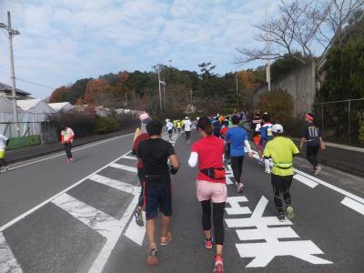 2015 初奈良マラソンと関西観光【その9】天理の街を走り抜けて