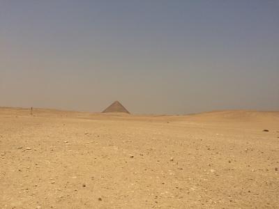 赤のピラミッド&屈折ピラミッド@ダハシュール