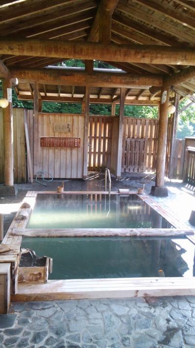 いい湯だな、松之山温泉