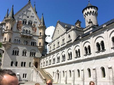 親父の一人旅     ミュンヘンからノイシュバンシュタイン城、ヴィース教会、フュッセンを周る