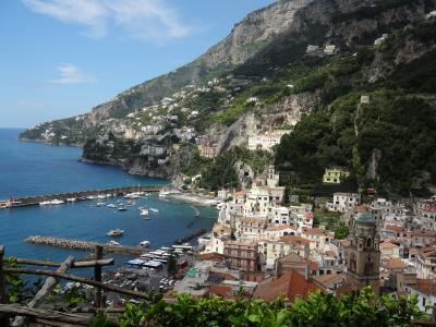 2016年 混沌と風光明媚のはざまをいく旅 南イタリア 3  アマルフィ