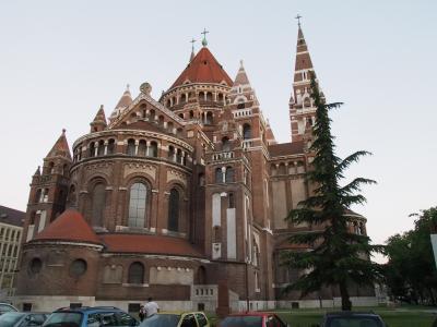 ハンガリー旅行ー3:セゲド(教会と温泉)