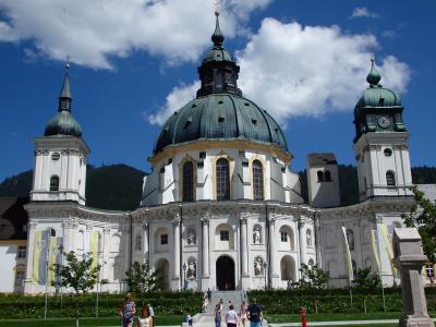 オーストリアのチロル&エーアヴァルト、ドイツのバイエルンの旅 【78】 エッタール修道院へお出かけ