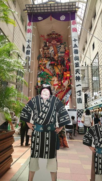 博多の街が山笠で夏を迎えました(^0^)
