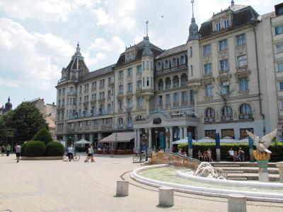 ハンガリー旅行ー4:デブレツェン(夏服がない)
