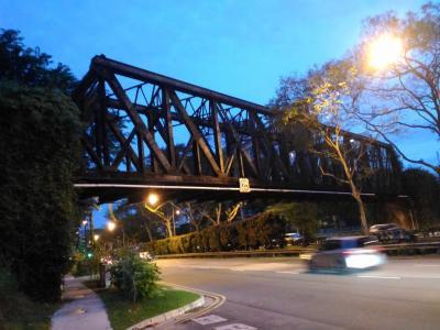 3回目のシンガポール グリーンコリドー (旧マレー鉄道跡地)を歩いたり、 タイガービールの工場見学をしてみたり