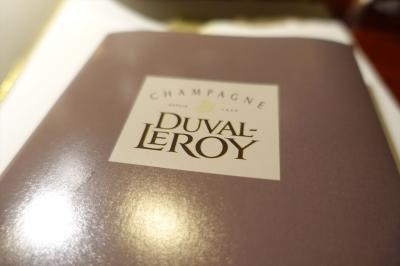 DUVAL-LEROY と  京都平井牛の会  in  のだ屋