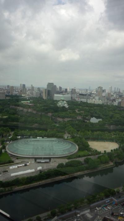大阪出張、やっぱり猛暑でした