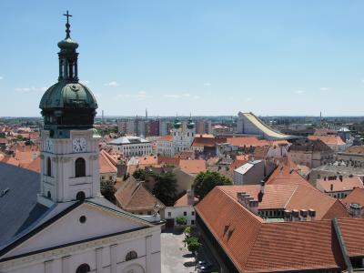 ハンガリー旅行ー5:ジュール(小さな旧市街)